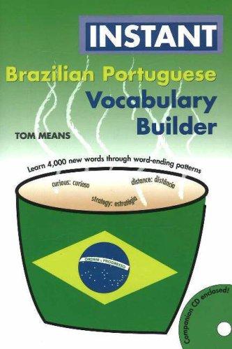 Instant Brazilian Portuguese Vocabulary Builder [With CD] (Portuguese Edition)