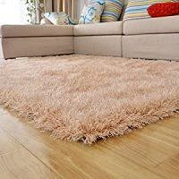 Amazon.com - Ustide Camel Color Carpet for Living Room ...