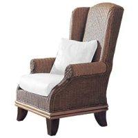Pinzon Bali Rattan Wing Chair