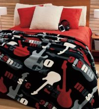 Artistic Guitar Bedding - Drageda.com : Heart of Country Music