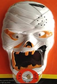 Amazon.com : MUMMY SPOOKY DOOR BELL Halloween Decoration ...