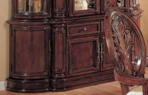 Image of Cherry Finish Birch Wood Dining Room Buffet Server (VF_AZ00-45612x36330)