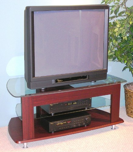 Image of 4D Concepts TV Entertainment Stand, Cherry (AZ00-30251x8048)