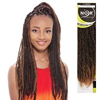 Amazon.com : Synthetic Hair Braids Janet Collection Noir ...