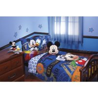 $ Review Disney Mickey Mouse 4pc Toddler Bedding Set ...
