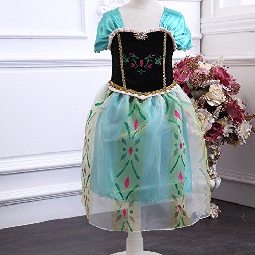 【ノーブランド品】Frozen Ana 子供用ワンピース 140cm