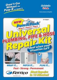 Fernco Inc. FP-FM3P1 Universal Plumbing, Pipe and Hose ...