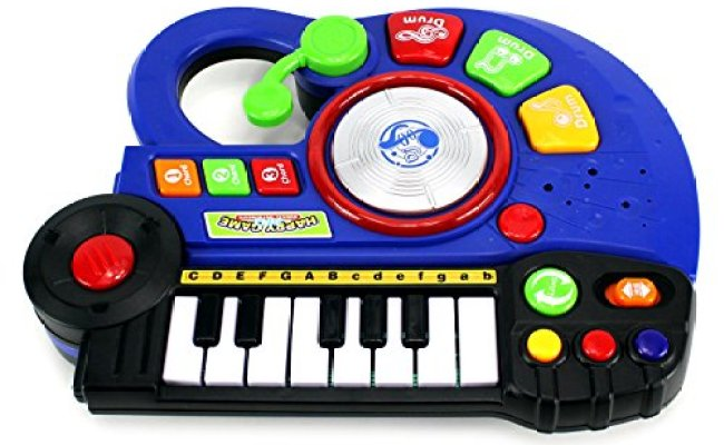 Velocity Toys Happy Band 3 In 1 Guitar Keyboard Dj Toy