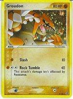 Groudon Pokemon Card