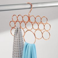 InterDesign Axis 18 Loop Scarf Holder, Copper Home Garden ...
