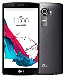 LG G4 H810 32GB Unlocked GSM 4G LTE Hexa-Core Android Smartphone w/ 16MP Camera - Metallic Black