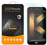 [2-Pack] LG K20 Plus Tempered Glass Screen Protector, Supershieldz Anti-Scratch, Anti-Fingerprint, Bubble Free, Lifetime Replacement Warranty