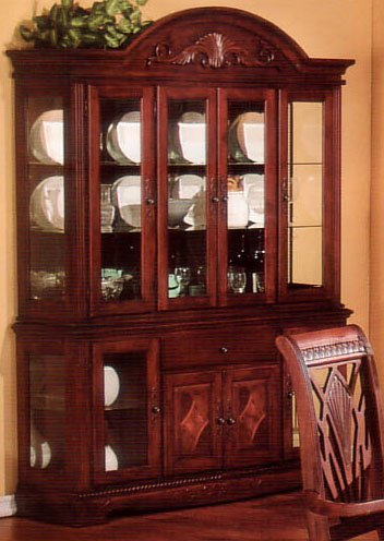 Image of Manchester Cherry Dining Room China Buffet and Hutch (VF_AZ00-39528x21509)