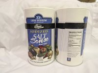 Diamond Crystal Iodized Salt Sense 2 Pack New