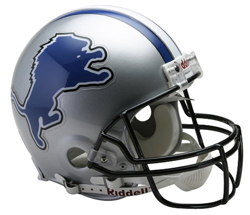 Detroit Lions Proline Football Helmet Promo Code