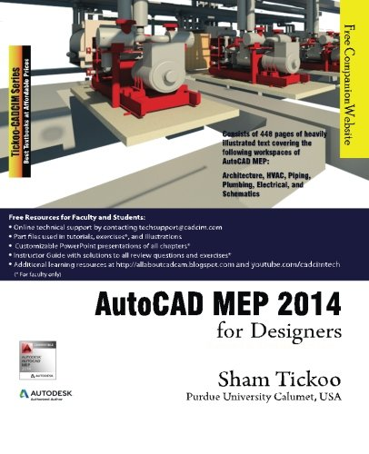 download AutoCAD MEP 2014 for Designers pdf by Prof Sham Tickoo