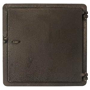 Amazoncom Cast Iron Clean Out Door 12quot X 12