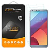 [3-Pack] LG G6 Tempered Glass Screen Protector, Supershieldz Anti-Scratch, Anti-Fingerprint, Bubble Free, Lifetime Replacement Warranty