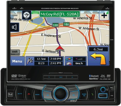 Boss Audio BV9557 Double-DIN 7-Inch Touchscreen TFT AM/FM RDS