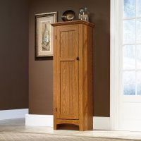 Storage Cabinet / Pantry - Oak Finish