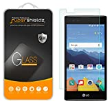 [2-Pack] LG K8 V (Verizon Only) [Not Fit For LG K8 Model] Tempered Glass Screen Protector, Supershieldz Anti-Scratch, Anti-Fingerprint, Bubble Free, Lifetime Replacement Warranty