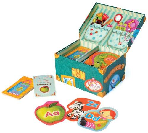Educational Insights Grandma's Trunk Alphabet Game 【英語玩具 カードゲーム】 アルファベットゲーム おばあちゃんのトランク 正規品