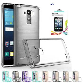 LG-G-Stylo-Clear-Case-with-HD-Screen-Protector-AnoKe-Scratch-Resistant-Hard-Transparent-Acrylic-with-Rubber-Silicone-Bumper-Hybrid-Ultra-Slim-Crytal-Protective-For-LG-LS770