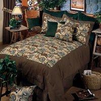 Amazon.com - River Creek - Queen Comforter Set - Fishing ...