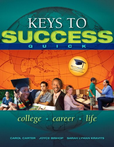 Keys to Success Quick Plus NEW MyStudentSuccessLab 2012 Update -- Access Card Package (Keys Franchise)