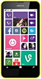 Nokia Lumia 630 Dual-SIM Smartphone (4,5 Zoll (11,4 cm) Touch-Display, 8 GB Speicher, Windows 8) gelb