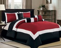 Black & White Comforters Sets