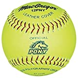 "(Price/DZN)MacGregor Pony Approved 12"" Softball"