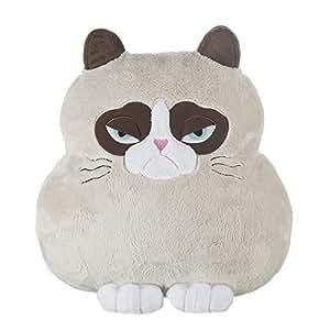 Amazoncom Grumpy Cat Shaped Pillow Stuffed Animal By
