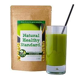 ミネラル酵素グリーンスムージー 豆乳抹茶味 200g