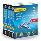 51VxPYr4rWL. SL160  Top 5 Books of MCSE Exams Certification for January 31st 2012  Featuring :#4: MCITP Windows Server 2008 Server Administrator: Training Kit 3 Pack: Exams 70 640, 70 642, 70 646