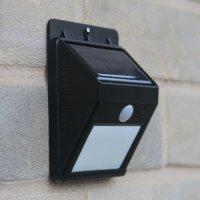 Outdoor LED Wireless Solar Powered Motion Sensor Light ...
