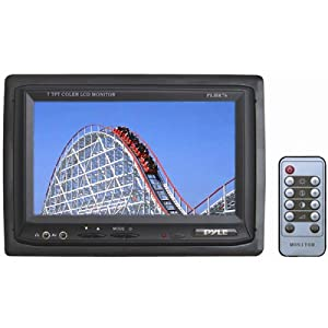 PYLE 7-Inch Widescreen TFT/LCD With dual input – this is the 7″ LCD screen we use for viewing our back-up camera on the bus, as well as the readouts from our LiFePO4 battery systems EMS.