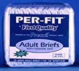 Prevail Per-Fit Maximum Absorbency Underwear, Large, 18-Count (Pack of 4)