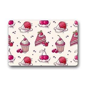 Amazoncom Custom Cute Cupcake Sweet Christmas Door Mats