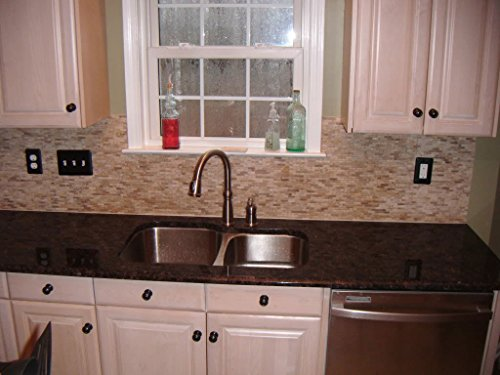Granite Chestnut Peel N Stick Countertop Laminate Cover 3