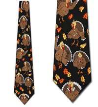 Thanksgiving TIES Turkeys Neckties | ToolFanatic.com