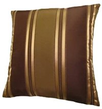 Amazon.com: 24x24 Bronze, Gold, and Brown Stripes ...