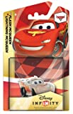 DISNEY INFINITY CARS LIGHTNING MCQUEEN CRYSTAL LIMITED EDITION