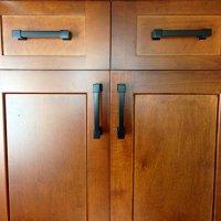 Southern Hills Black Cabinet Drawer Pulls SHKM010