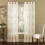 Gold Sheer Curtains With Grommets