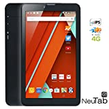 NeuTab® G7 7 inch 4G LTE Quad Core Tablet PC Google Android 5.0 Lollipop IPS 1024x600 HD Display Bluetooth GPS Supported Dual HD Camera Unlocked GSM Dual Sim Slot 4G/3G/2G Android Phone Phablet