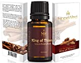 King Of Thieves Essential Oil Blend - 100% Pure, Therapeutic grade, Unique Organic Formula - Supports Immune System Health, kills germs, helps prevent cold and flu, Antibacterial - by HopeWind Health