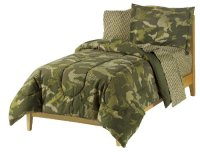 Military Camouflage Bedroom Decor