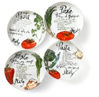 Galleon - Rosanna Pasta Italiana Pasta Bowls Set Of 4