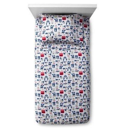 VTS-Curious-Canines-Sheet-Set-Blue-Pillowfort-Twin